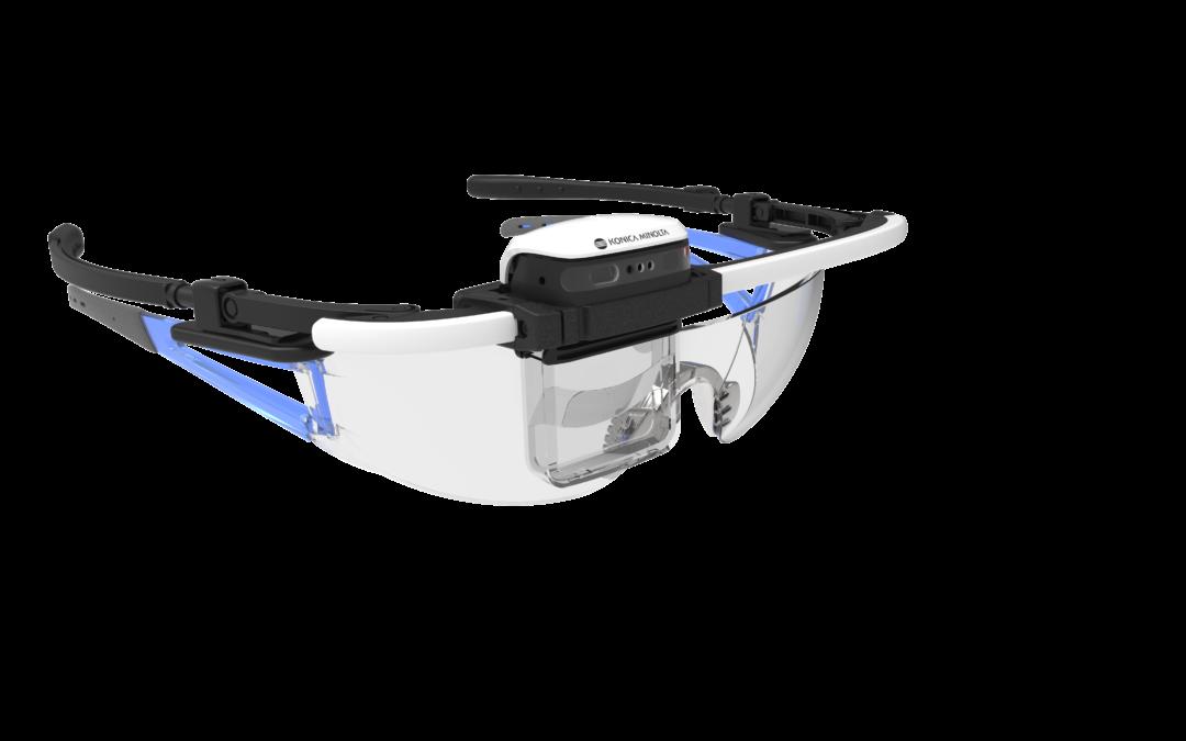 Pohlédněte do budoucnosti přes chytré brýle Konica Minolta