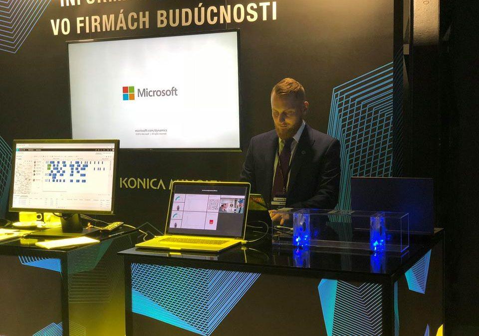 Byznys snídaně na téma digitální transformace v oblasti poskytování servisu a údržby – 18. 10. 2018, Bratislava